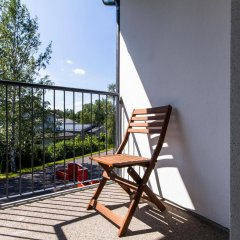 Апартаменты Forenom Apartments Espoo Lintuvaara балкон