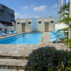 Отель Antico Plaza Hotel Бразилия, Таубате - отзывы, цены и фото номеров - забронировать отель Antico Plaza Hotel онлайн бассейн