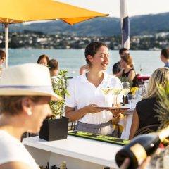 Отель Eden Au Lac Швейцария, Цюрих - отзывы, цены и фото номеров - забронировать отель Eden Au Lac онлайн питание фото 3