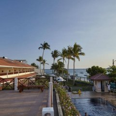 Coral Sands Hotel Хиккадува приотельная территория