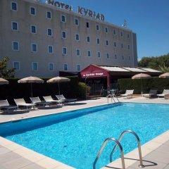 Отель Kyriad Cannes Mandelieu бассейн фото 3