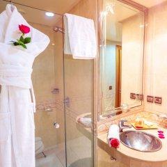 Отель Idou Anfa Hotel Марокко, Касабланка - отзывы, цены и фото номеров - забронировать отель Idou Anfa Hotel онлайн ванная
