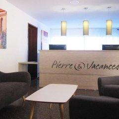 Отель Residence Pierre & Vacances Barcelona Sants Барселона интерьер отеля