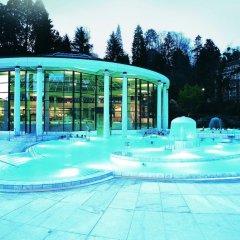 Отель Aqua Aurelia Suitenhotel Германия, Баден-Баден - 1 отзыв об отеле, цены и фото номеров - забронировать отель Aqua Aurelia Suitenhotel онлайн бассейн