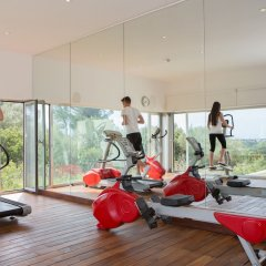 Hotel Castell dels Hams фитнесс-зал фото 2