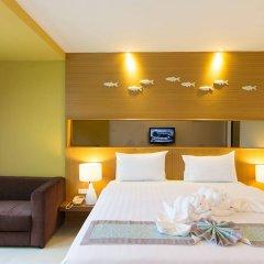 Ansino Bukit Hotel сейф в номере