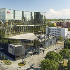 Отель Hilton Tallinn Park балкон