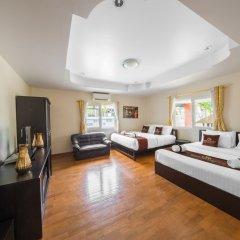 Отель Villas In Pattaya Green Residence Jomtien Beach Паттайя комната для гостей