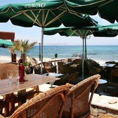 Отель Kaissa Beach Греция, Гувес - 1 отзыв об отеле, цены и фото номеров - забронировать отель Kaissa Beach онлайн пляж