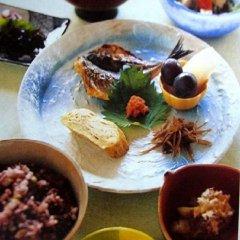 Отель Sansou Tanaka Хидзи питание фото 3