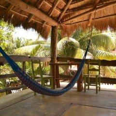 Отель Posada del Sol Tulum балкон
