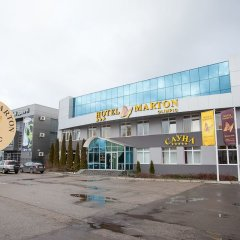 Отель Мартон Олимпик Калининград вид на фасад
