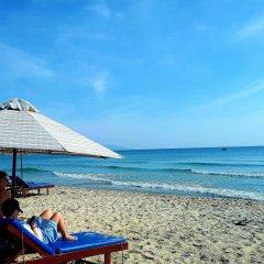 Отель Tan Thanh Beach Villa пляж