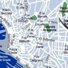 Отель Le Tre Stazioni Генуя городской автобус