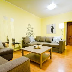 Апартаменты Lakshmi Apartment Krasnye Vorota комната для гостей фото 5