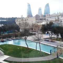 Отель Boulevard Apartments and Residences Азербайджан, Баку - отзывы, цены и фото номеров - забронировать отель Boulevard Apartments and Residences онлайн бассейн