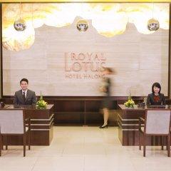 Отель Royal Lotus Hotel Ha long Вьетнам, Халонг - отзывы, цены и фото номеров - забронировать отель Royal Lotus Hotel Ha long онлайн интерьер отеля