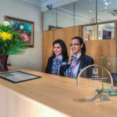 Отель Comfort Inn St Pancras - Kings Cross Великобритания, Лондон - отзывы, цены и фото номеров - забронировать отель Comfort Inn St Pancras - Kings Cross онлайн интерьер отеля фото 2