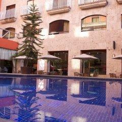 Отель Celta Мексика, Гвадалахара - отзывы, цены и фото номеров - забронировать отель Celta онлайн бассейн фото 2