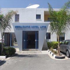 Апартаменты Kefalonitis Apartments парковка