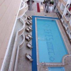 Отель Club Efes Otel Силифке бассейн