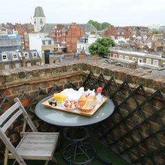 Отель The Beaufort Hotel Великобритания, Лондон - отзывы, цены и фото номеров - забронировать отель The Beaufort Hotel онлайн балкон