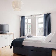 Отель Mitte Residence Германия, Берлин - отзывы, цены и фото номеров - забронировать отель Mitte Residence онлайн комната для гостей фото 4