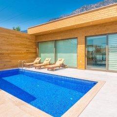 Villa Likapa Турция, Калкан - отзывы, цены и фото номеров - забронировать отель Villa Likapa онлайн бассейн фото 2