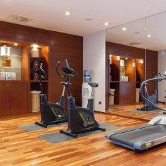 Отель Ciudad de Lleida Льейда фитнесс-зал