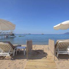 Отель Cézanne Hôtel Spa пляж