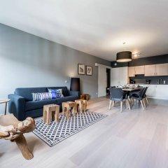Отель Smartflats Design - Cathédrale Бельгия, Льеж - отзывы, цены и фото номеров - забронировать отель Smartflats Design - Cathédrale онлайн комната для гостей фото 5