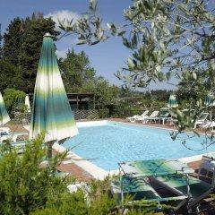 Отель Villa Belvedere Италия, Сан-Джиминьяно - отзывы, цены и фото номеров - забронировать отель Villa Belvedere онлайн бассейн фото 2