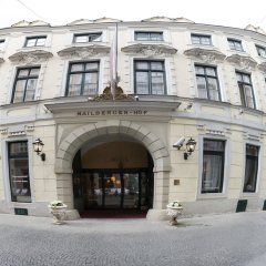Отель Mailberger Hof Вена вид на фасад