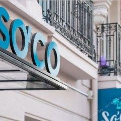 Отель So'Co by HappyCulture Франция, Ницца - 13 отзывов об отеле, цены и фото номеров - забронировать отель So'Co by HappyCulture онлайн балкон
