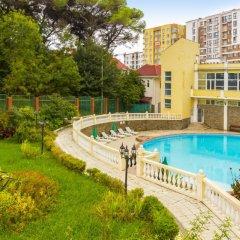 Отель Морская звезда (Лазаревское) Сочи бассейн фото 2