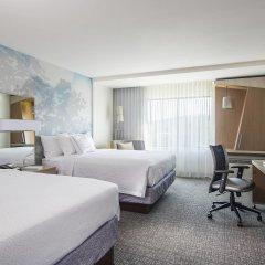 Отель Courtyard by Marriott Columbus OSU США, Блэклик - отзывы, цены и фото номеров - забронировать отель Courtyard by Marriott Columbus OSU онлайн комната для гостей фото 4