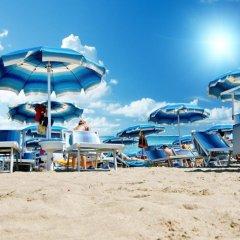 Hotel Du Lac Римини пляж