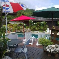 Отель Pension Fare d'hotes Tehuarupe Муреа бассейн