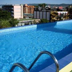 Отель MPM Hotel Royal Central - Halfboard Болгария, Солнечный берег - отзывы, цены и фото номеров - забронировать отель MPM Hotel Royal Central - Halfboard онлайн бассейн фото 3