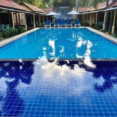 Отель Ricos Bungalows Kata бассейн фото 2