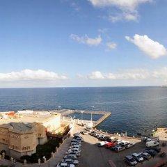 Отель Astra Hotel Мальта, Слима - 2 отзыва об отеле, цены и фото номеров - забронировать отель Astra Hotel онлайн пляж фото 2