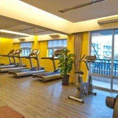Отель Citadines Biyun Shanghai Китай, Шанхай - отзывы, цены и фото номеров - забронировать отель Citadines Biyun Shanghai онлайн фитнесс-зал фото 3