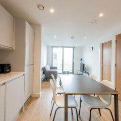 Апартаменты Modern 2 Bedroom Apartment in Northern Quarter в номере фото 2