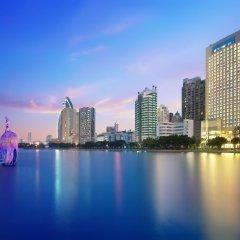 Отель Lakeside Hotel Xiamen Airline Китай, Сямынь - отзывы, цены и фото номеров - забронировать отель Lakeside Hotel Xiamen Airline онлайн приотельная территория