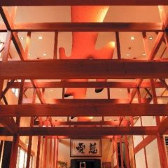 Отель Motoyu-no-yado Kurodaya Беппу гостиничный бар