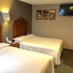 Отель Canada Мексика, Мехико - отзывы, цены и фото номеров - забронировать отель Canada онлайн комната для гостей