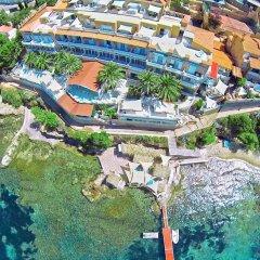Отель Vistabella Испания, Курорт Росес - отзывы, цены и фото номеров - забронировать отель Vistabella онлайн бассейн фото 3
