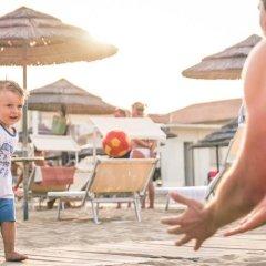 Hotel Ambasciatori пляж