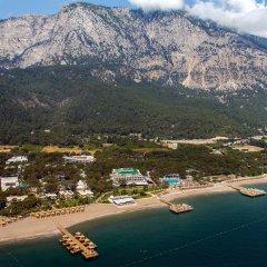 Отель Nirvana Lagoon Villas Suites & Spa пляж