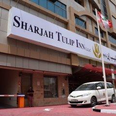 Отель Tulip Inn Sharjah городской автобус